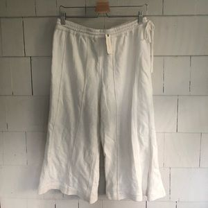 NWT Anthropologie Saturday Sunday Wide Leg Cropped